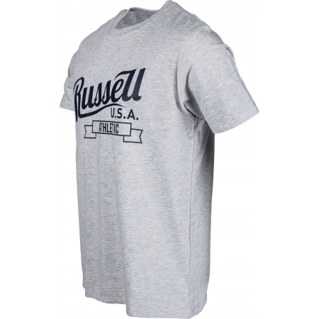 Men's T-shirt - Russell Athletic S/S CREW RA PRINT - 2