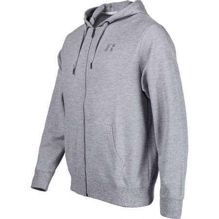 Hanorac de bărbați - Russell Athletic ZIP THROUGHT HOODY - 2