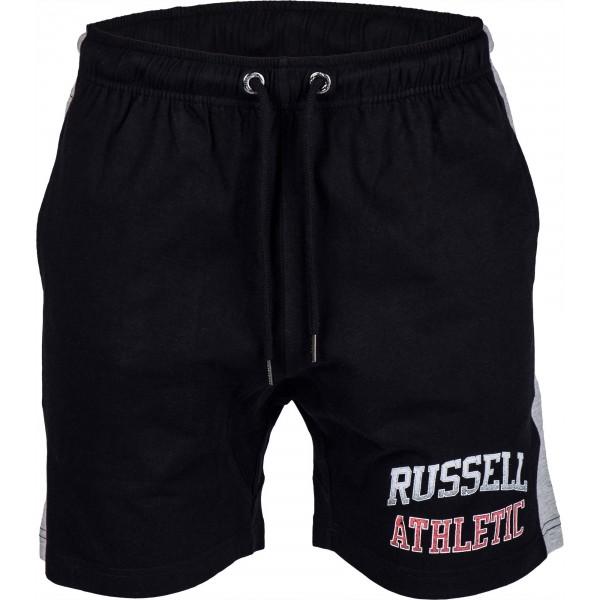 Russell Athletic SHORT WITH LOGO černá XL - Pánské šortky
