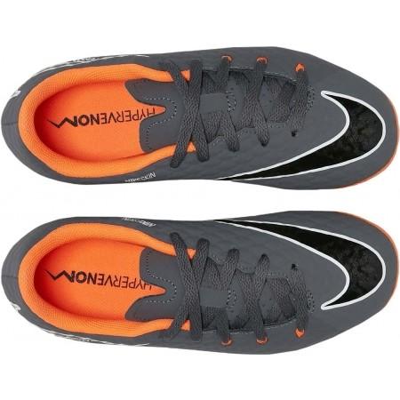 Obuwie piłkarskie dziecięce - Nike JR HYPERVENOM PHANTOM III ACADEMY FG - 2