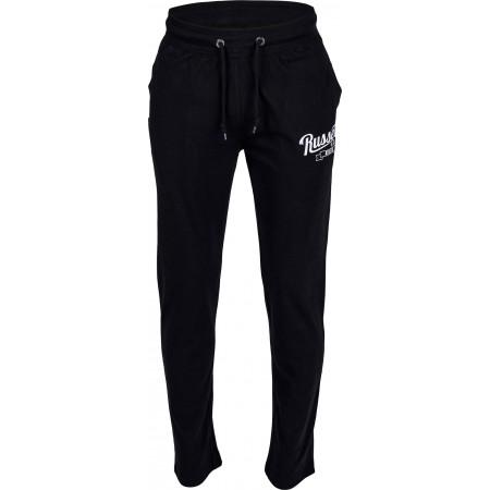 Pantaloni trening bărbați - Russell Athletic JERSEY OPEN PANT - 1