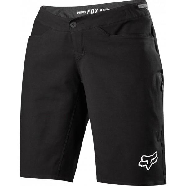 Fox W INDICATOR SHORT čierna XL - Dámske cyklistické šortky