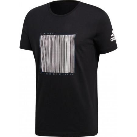 Tricou de bărbați - adidas BARCODE TEE - 1