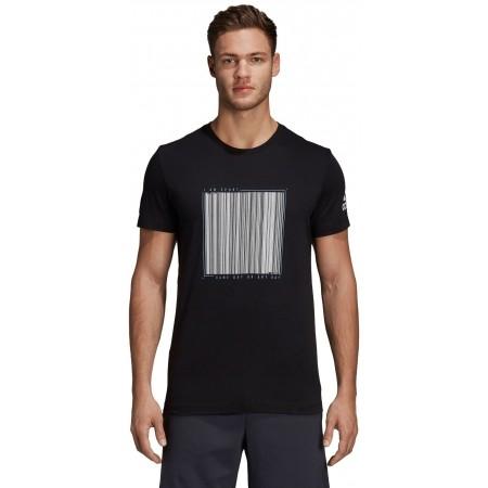 Tricou de bărbați - adidas BARCODE TEE - 2