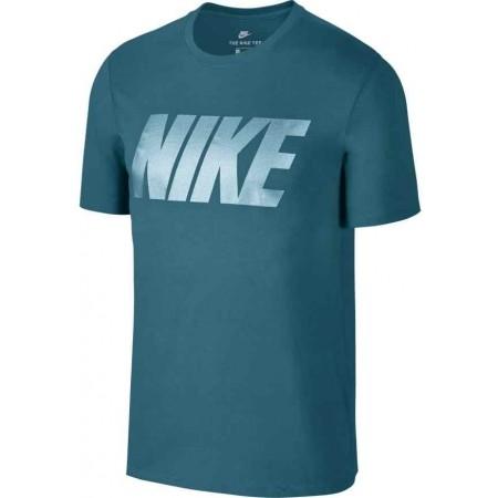 Herren T- Shirt - Nike TEE NIKE BLOCK - 3