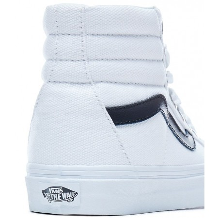 c45460afaa14d4 Women s ankle sneakers - Vans OVERSIZED LACE SK8-HI REISSUE True White - 6