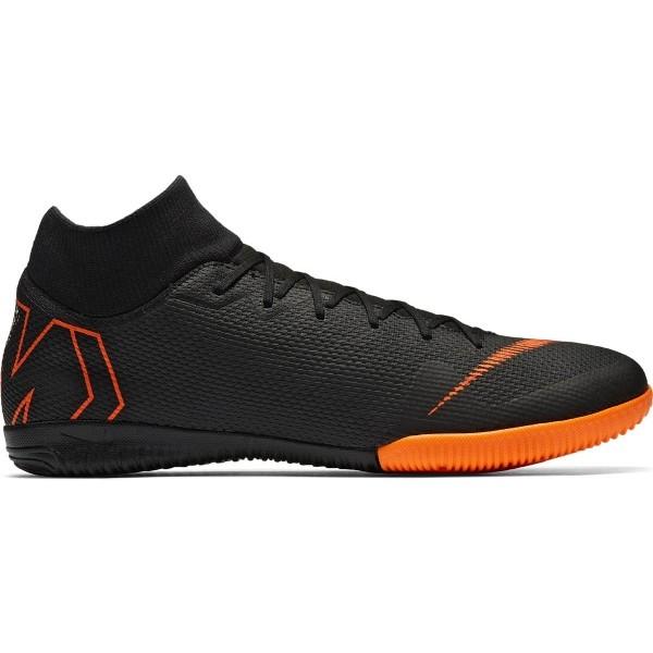 Nike SUPERFLYX 6 ACADEMY IC čierna 7.5 - Pánske futsalové kopačky