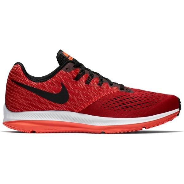 Nike AIR ZOOM WINFLO 4 červená 11 - Pánská běžecká obuv