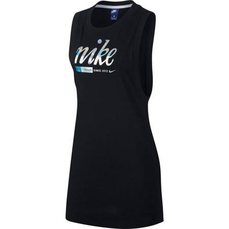 Sukienka damska - Nike SPORTSWEAR DRSS METALLIC - 1
