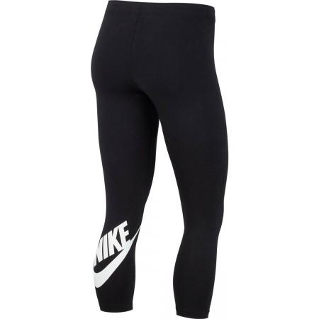 Legginsy sportowe damskie - Nike LGGNG LEGASEE CROP LOGO - 2