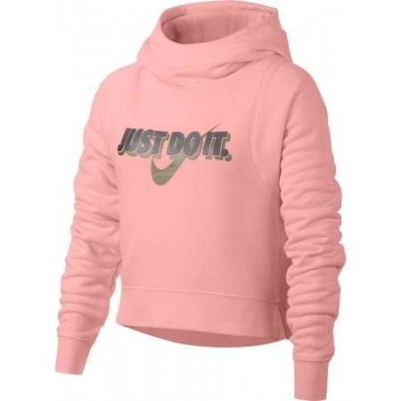 Dívčí mikina - Nike SPORTSWEAR MODERN HOODIE CROP GX - 1 9492f5cd2e1