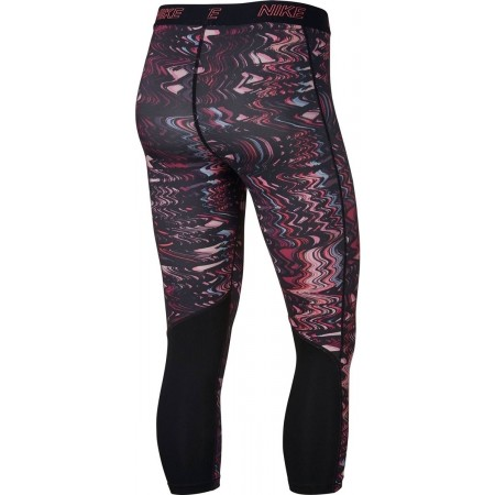 Legginsy sportowe damskie - Nike VCTY CAPRI VNR - 2