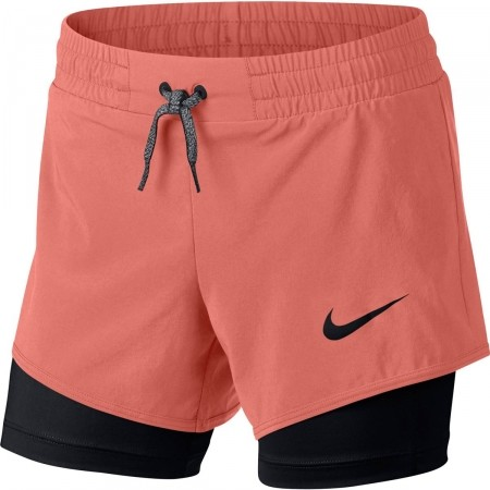 Trainingsshorts für Mädchen - Nike G SHORT 2IN1 - 1