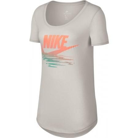 Koszulka damska - Nike TEE TB BF SUNSET - 1
