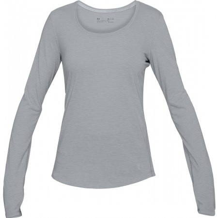 Koszulka funkcjonalna damska - Under Armour THREADBORNE STREAKER LONG SL - 1