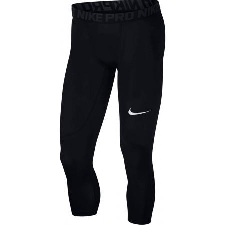Legginsy treningowe męskie - Nike PRO TGHT 3QT - 1