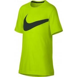 Nike BREATHE TOP SS HYPER GFX - Chlapecké tréninkové tričko