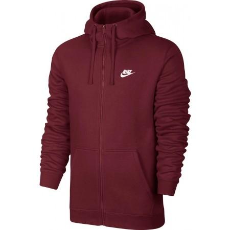 Herren Sweatshirt - Nike HOODIE FZ FLC CLUB - 1