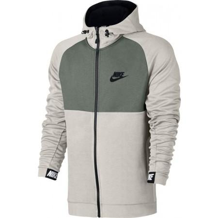 Herren Sweatshirt - Nike M NSW AV15 HOODIE FZ FLC - 1
