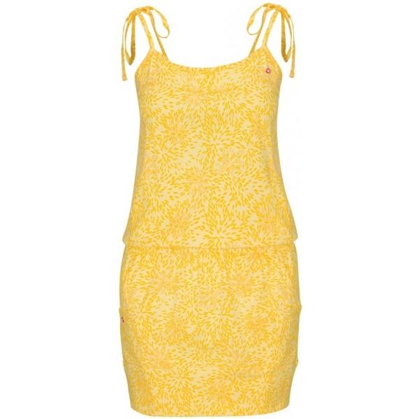Loap AMIE žlutá XL - Dámské šaty