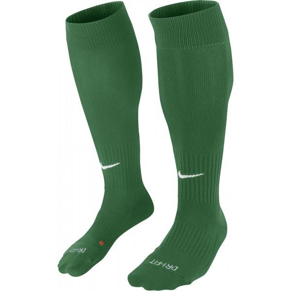 Nike CLASSIC II CUSH OTC -TEAM zelená L - Futbalové štulpne