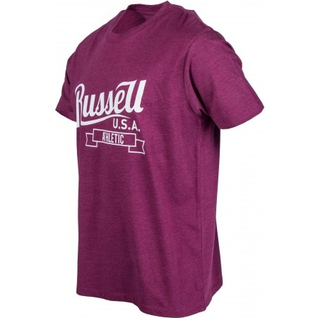 Men's T-shirt - Russell Athletic S/S CREW NECK TEE WITH SCRIPT STYLE PRINT - 2