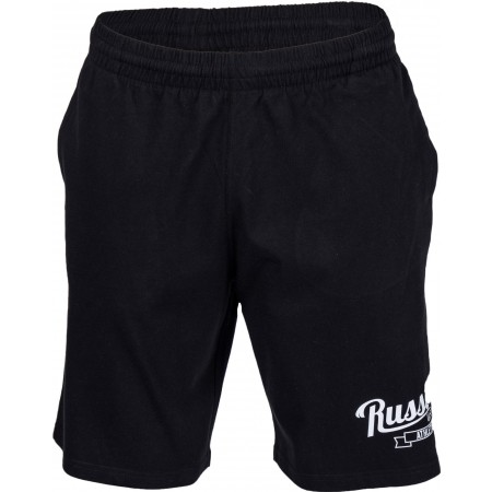 Men's shorts - Russell Athletic SHORTS WITH SCRIPT STYLE PRINT - 5