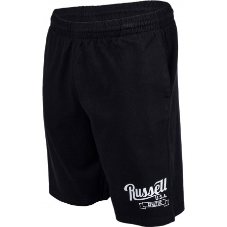 Men's shorts - Russell Athletic SHORTS WITH SCRIPT STYLE PRINT - 4