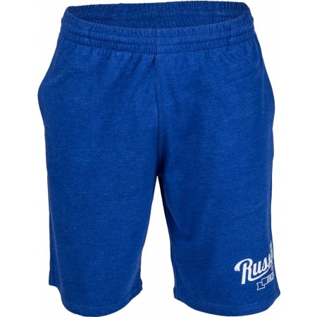 Men's shorts - Russell Athletic SHORTS WITH SCRIPT STYLE PRINT - 8