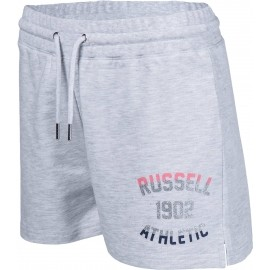 Russell Athletic SHORTS WITH MIXED DUAL TECHNIQUE PRINT - Women's shorts