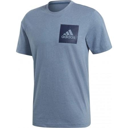 Men's T-shirt - adidas ESSENTIALS CHEST BOX LOGO TEE - 1