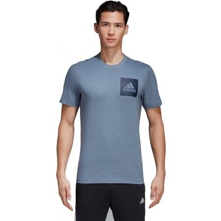 Men's T-shirt - adidas ESSENTIALS CHEST BOX LOGO TEE - 2