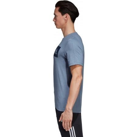 Men's T-shirt - adidas ESSENTIALS CHEST BOX LOGO TEE - 3