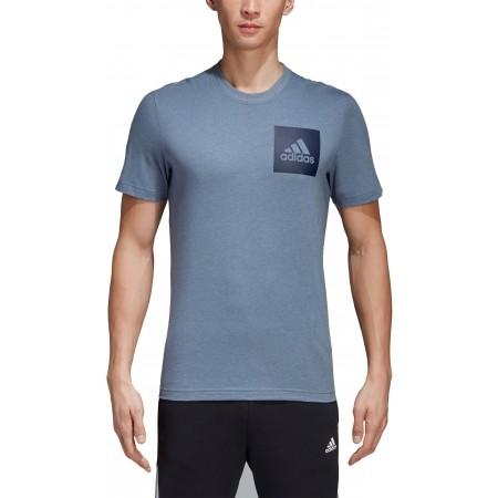 Men's T-shirt - adidas ESSENTIALS CHEST BOX LOGO TEE - 5