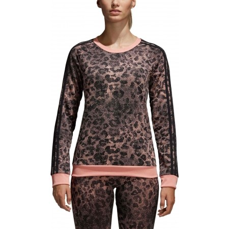 Women's sweater - adidas ESSENTIALS ALL OVER PRINTED SWEATSHIRT - 5