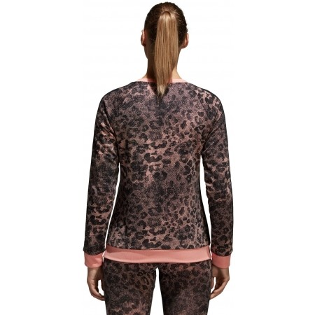Women's sweater - adidas ESSENTIALS ALL OVER PRINTED SWEATSHIRT - 4
