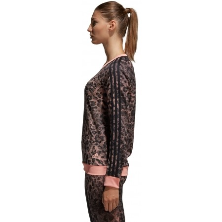 Women's sweater - adidas ESSENTIALS ALL OVER PRINTED SWEATSHIRT - 3