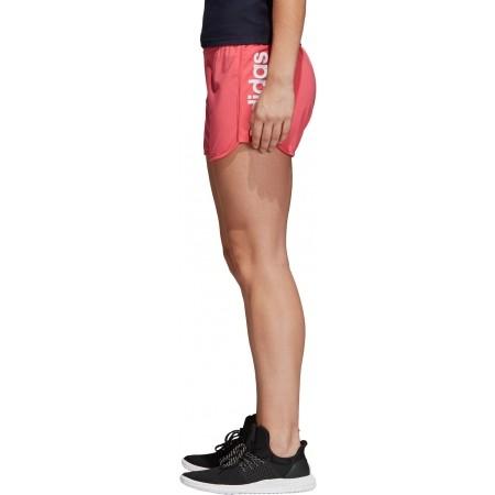 Women's shorts - adidas ESSENTIALS LINEAR SHORT - 3