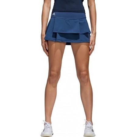 Women's skirt - adidas ADVANTAGE LAYERED SKIRT - 2