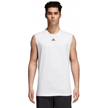 Koszulka męska - adidas M ID JSY TANK - 2