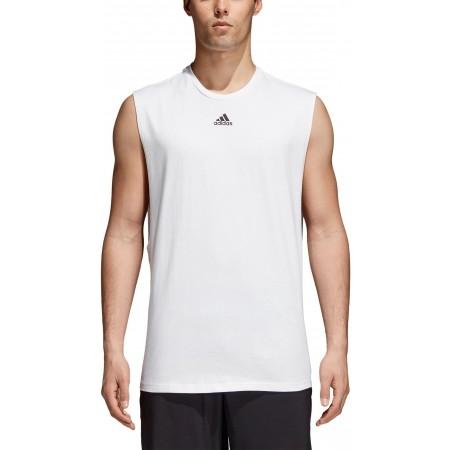 Koszulka męska - adidas M ID JSY TANK - 5