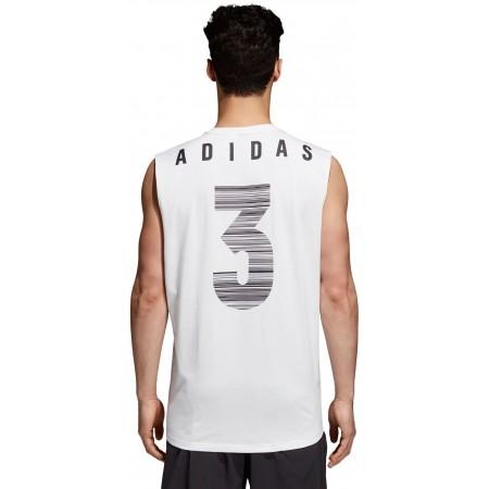Koszulka męska - adidas M ID JSY TANK - 4