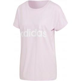adidas ESSENTIALS LINEAR LOOSE TEE - Koszulka damska