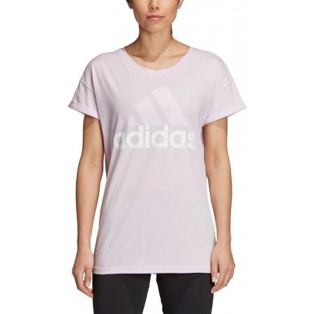 Tricou de damă - adidas ESSENTIALS LINEAR LOOSE TEE - 4