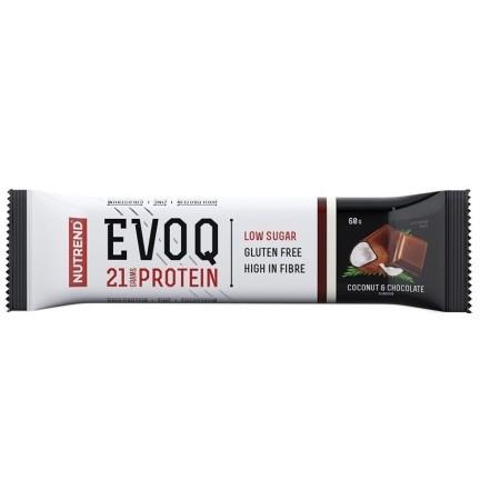 Nutrend EVOQ KOKOS A ČOKOLÁDA - Proteinová tyčinka
