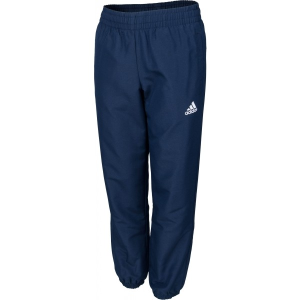 adidas ESSENTIALS STANFORD WOVEN PANT niebieski 152 - Spodnie dresowe chłopięce