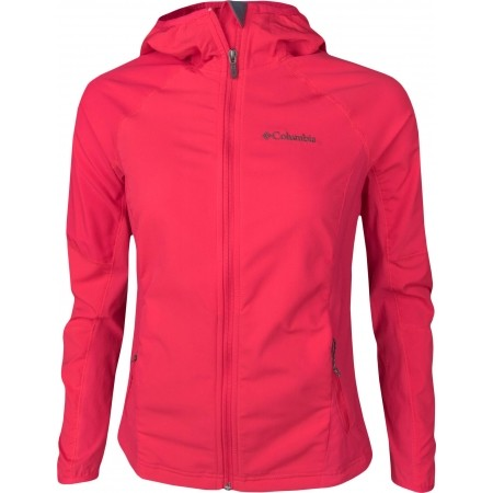 Damen Softshelljacke - Columbia SWEET AS SOFTSHELL HOODIE - 1