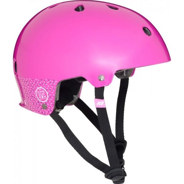 K2 JR VARSITY HELMET rózsaszín S - Gyerek sisak