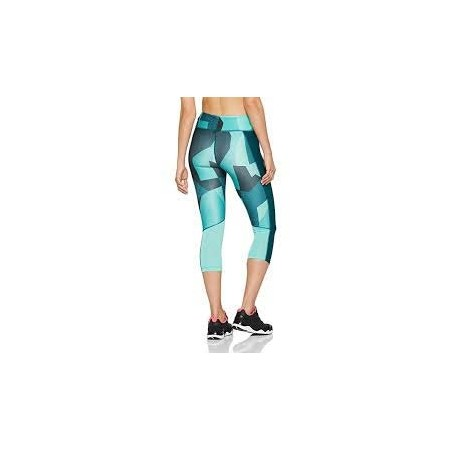 Legginsy kompresyjne 3/4 damskie - Under Armour SPEED STRIDE PRINTED CAPRI - 2