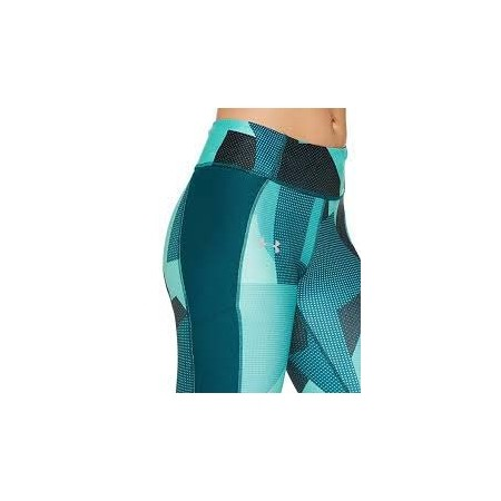 Legginsy kompresyjne 3/4 damskie - Under Armour SPEED STRIDE PRINTED CAPRI - 4